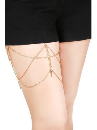 Body Chains-Spike Love Thigh Chain1