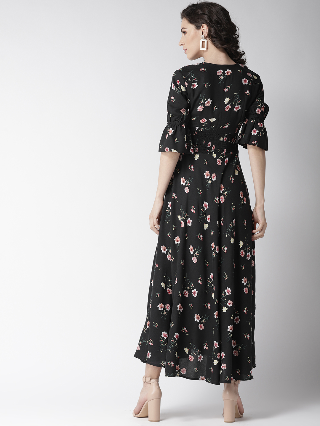 Dresses-Spot On Style Floral Maxi Dress3