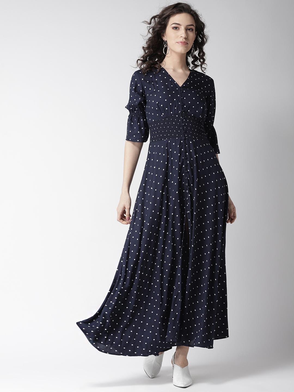 Dresses-Spot On Style Polka Maxi Dress1