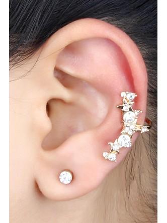 Ear Cuffs-Stars So Bright Ear Clip Pair3