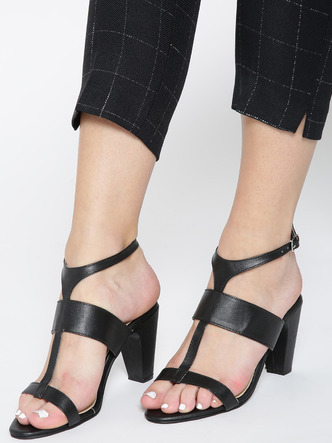 Heels and Wedges-Strapped In Glamour Block Heels1