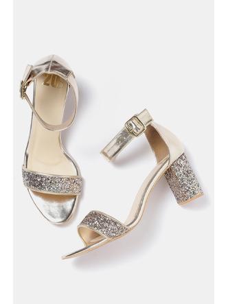 Heels and Wedges-Striking In Gold Sequined Heels3