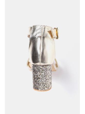 Heels and Wedges-Striking In Gold Sequined Heels5