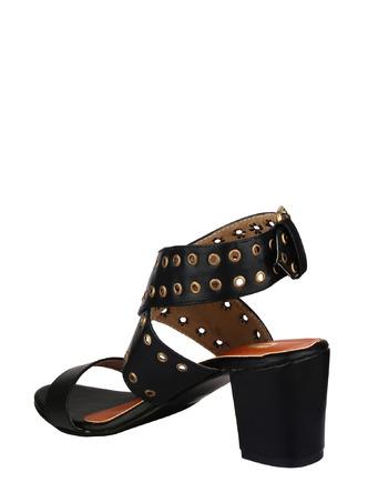 Heels and Wedges-Stud Of The Night Tie Up Heels2