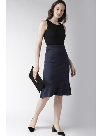 Shorts and Skirts-Sway In Style Trumpet Skirt3