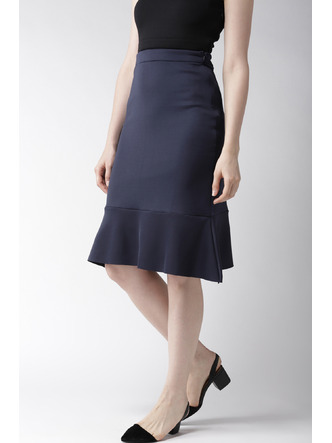 Shorts and Skirts-Sway In Style Trumpet Skirt4