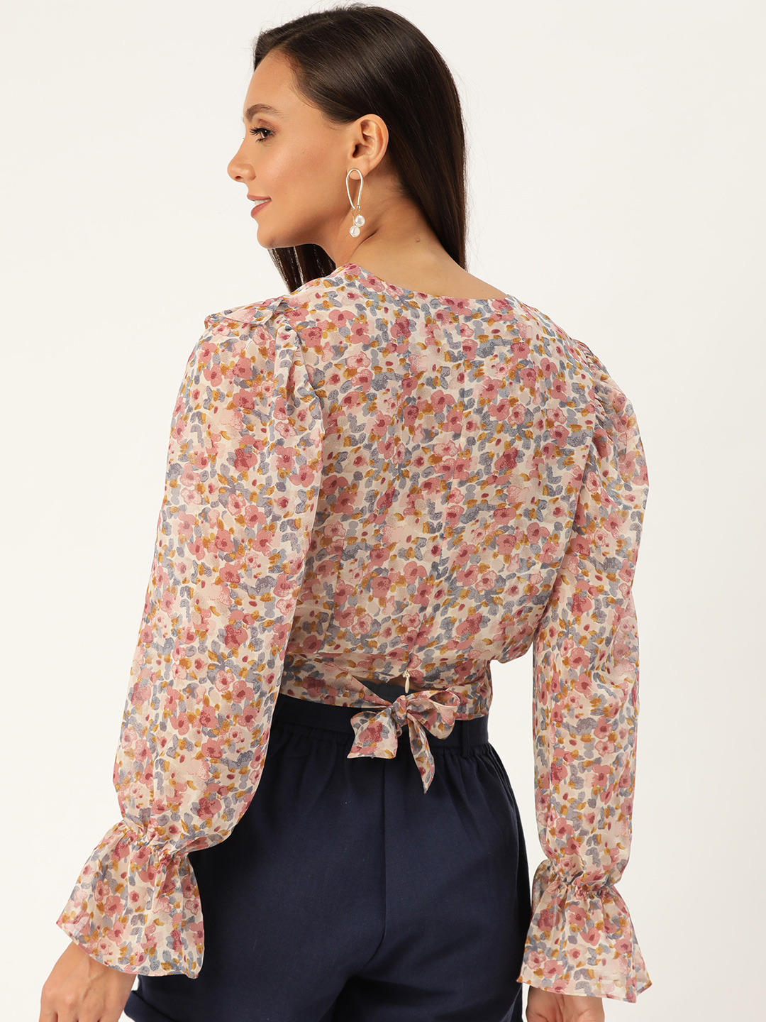 Tops-Wrapped With Florals Top3