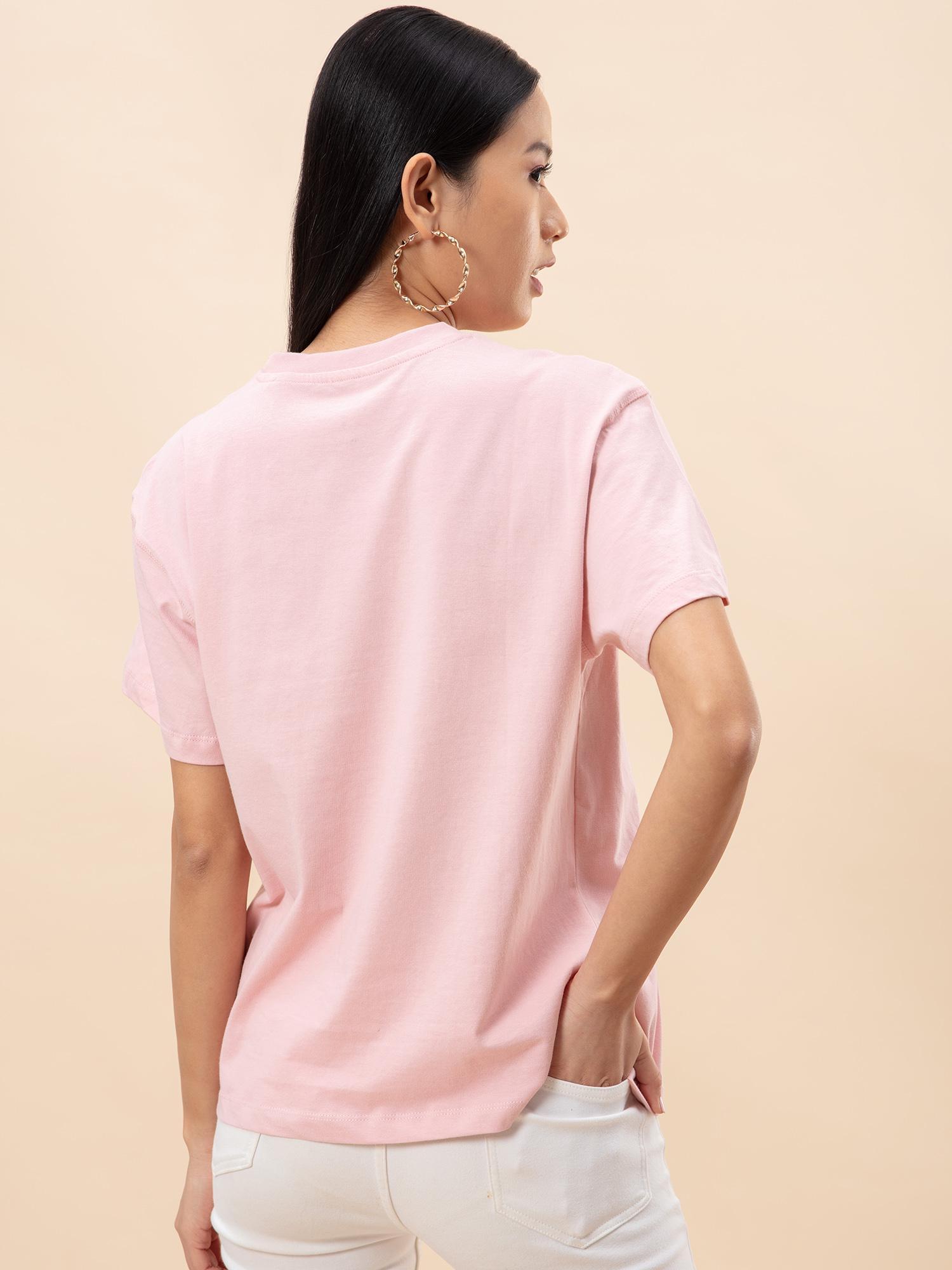 Tops-Oversized Love Dusky Pink T-shirt3