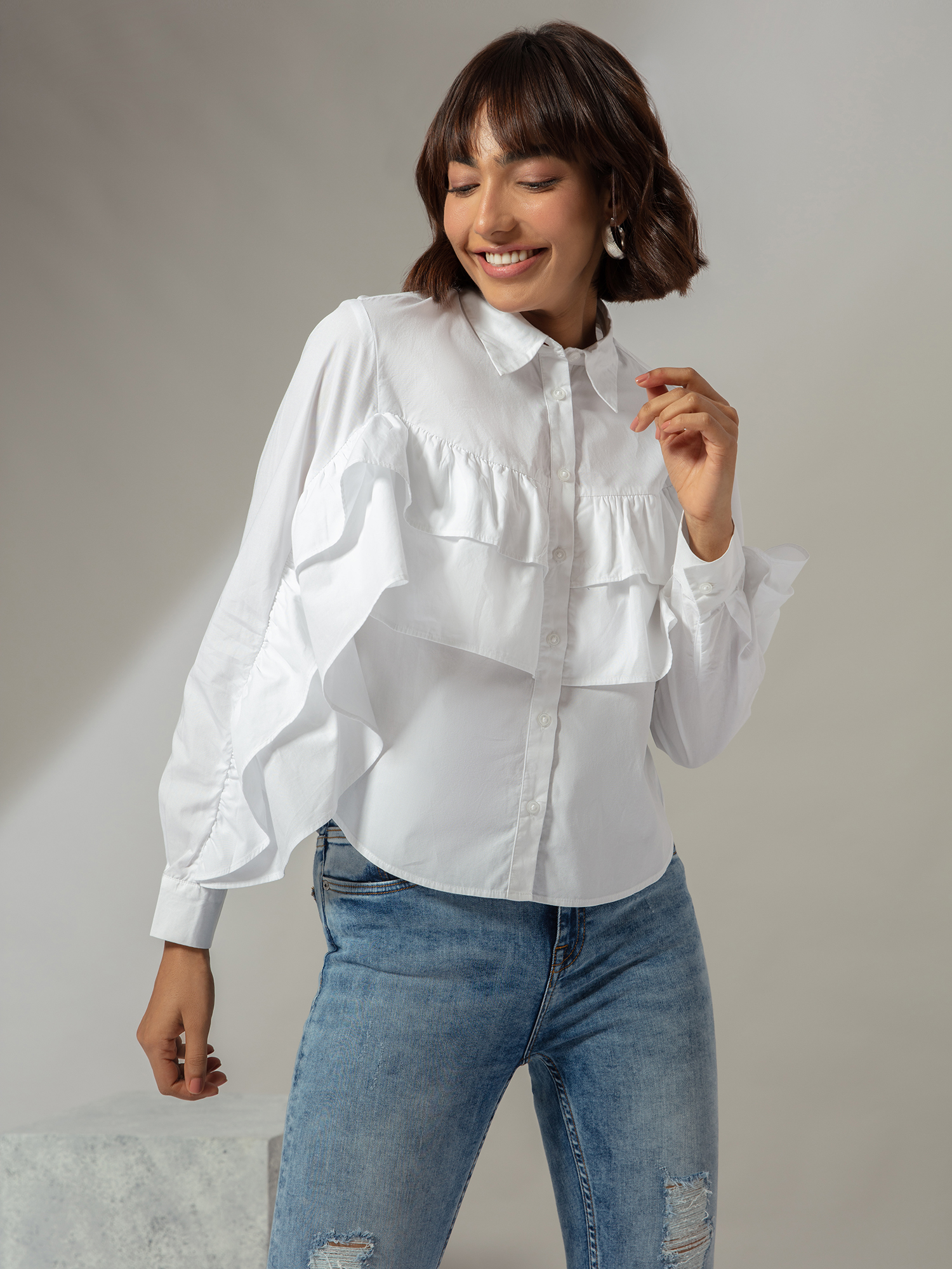 Tops-Ruffle This Way Again Shirt4