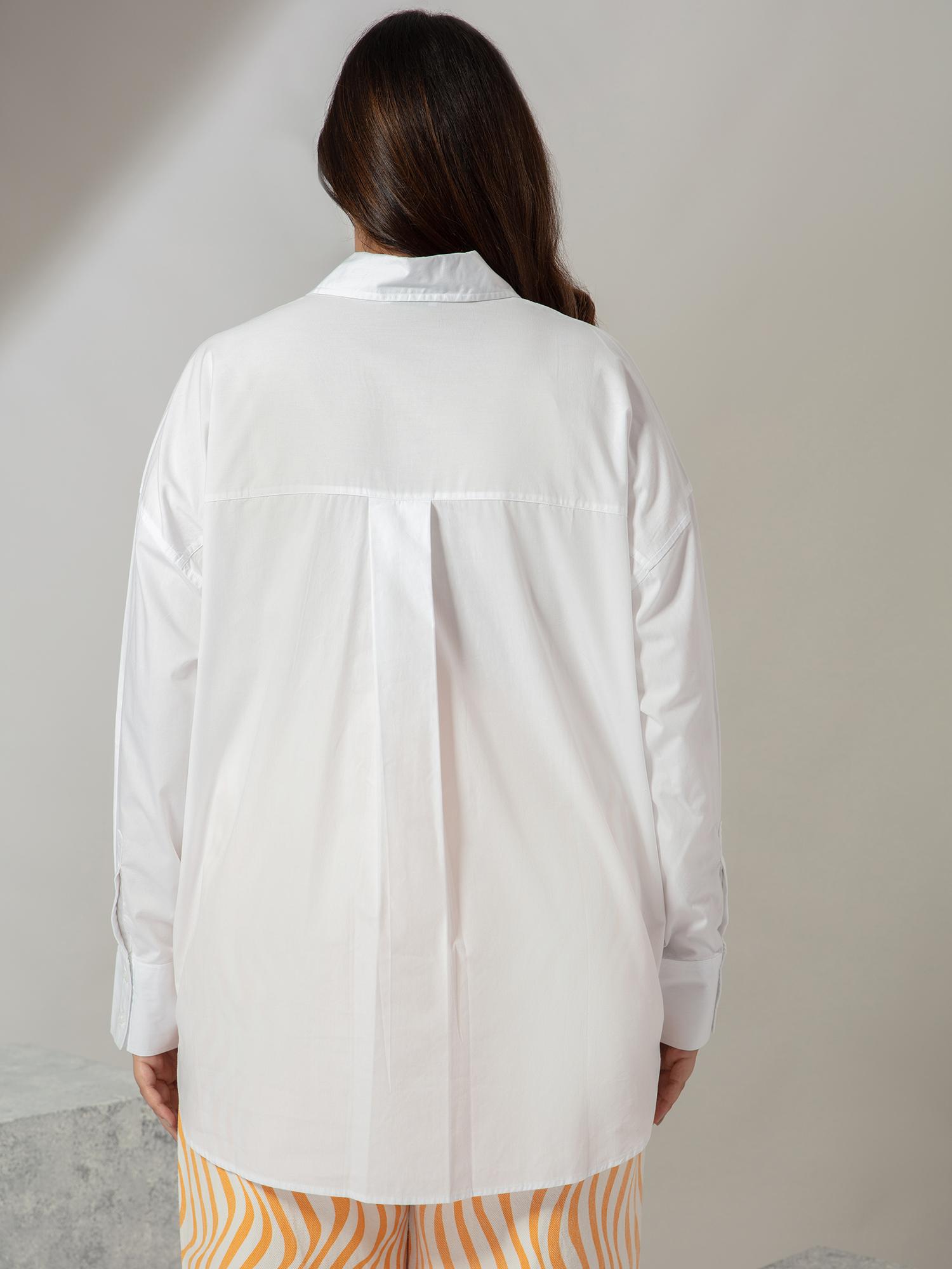 Tops-Pretty In White Shirt3