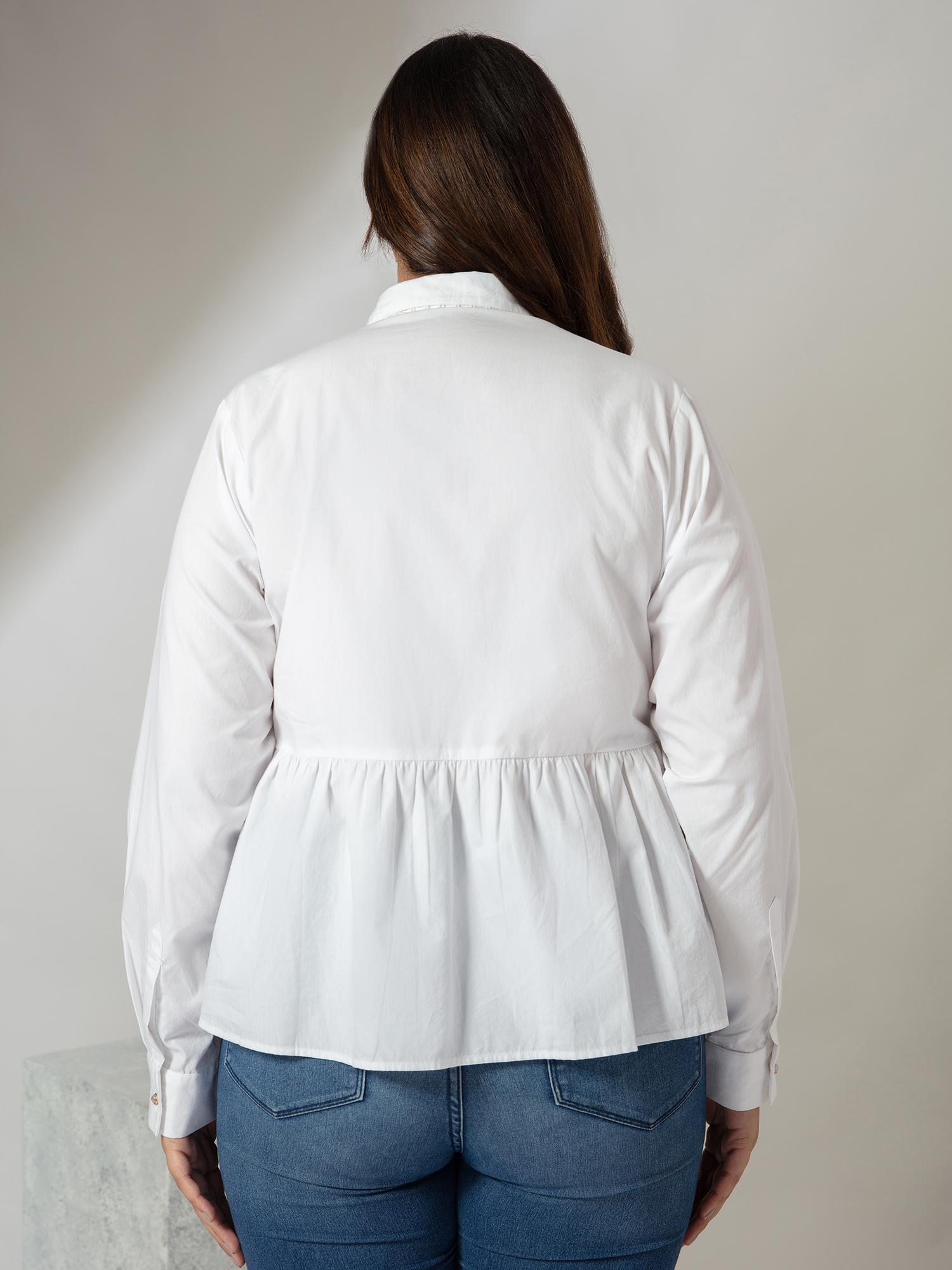 Tops-I Fancy You White Shirt3