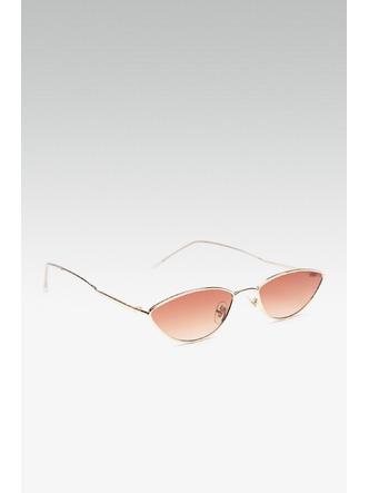 Sunglasses-The 90s Baby Gold Sunglasses3