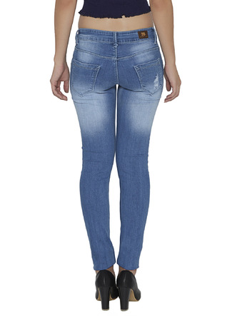 Denims Jeggings and Leggings-The Age Of The Light Blue Distressed Denims3