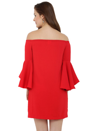 Dresses-The Bell Sleeve Flare Dress3