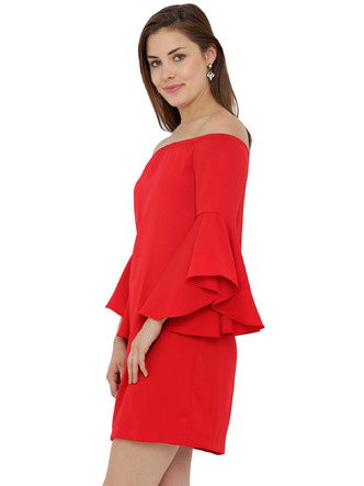 Dresses-The Bell Sleeve Flare Dress4