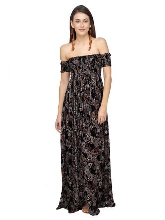 Dresses-The Bohemian Craze Maxi Dress2
