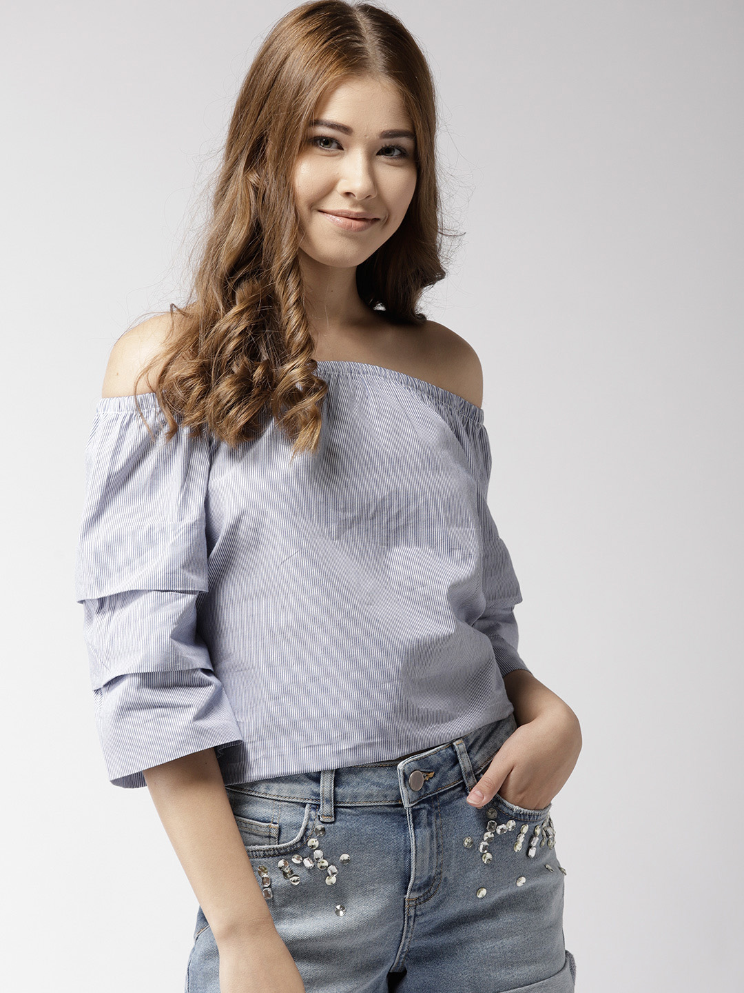 Tops-The Cool Wave Striped Top1