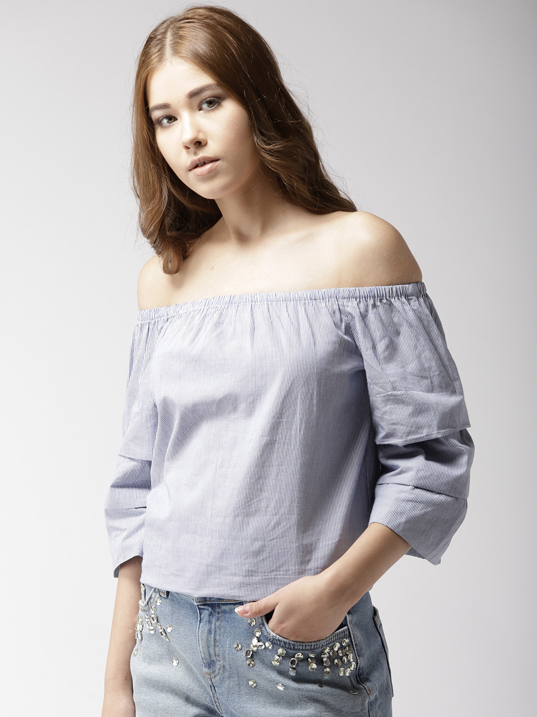 Tops-The Cool Wave Striped Top2