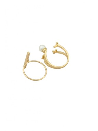 Rings-The Golden Love Ring Set4