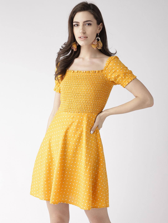 Dresses-The Little Miss Sunshine Polka Dress1
