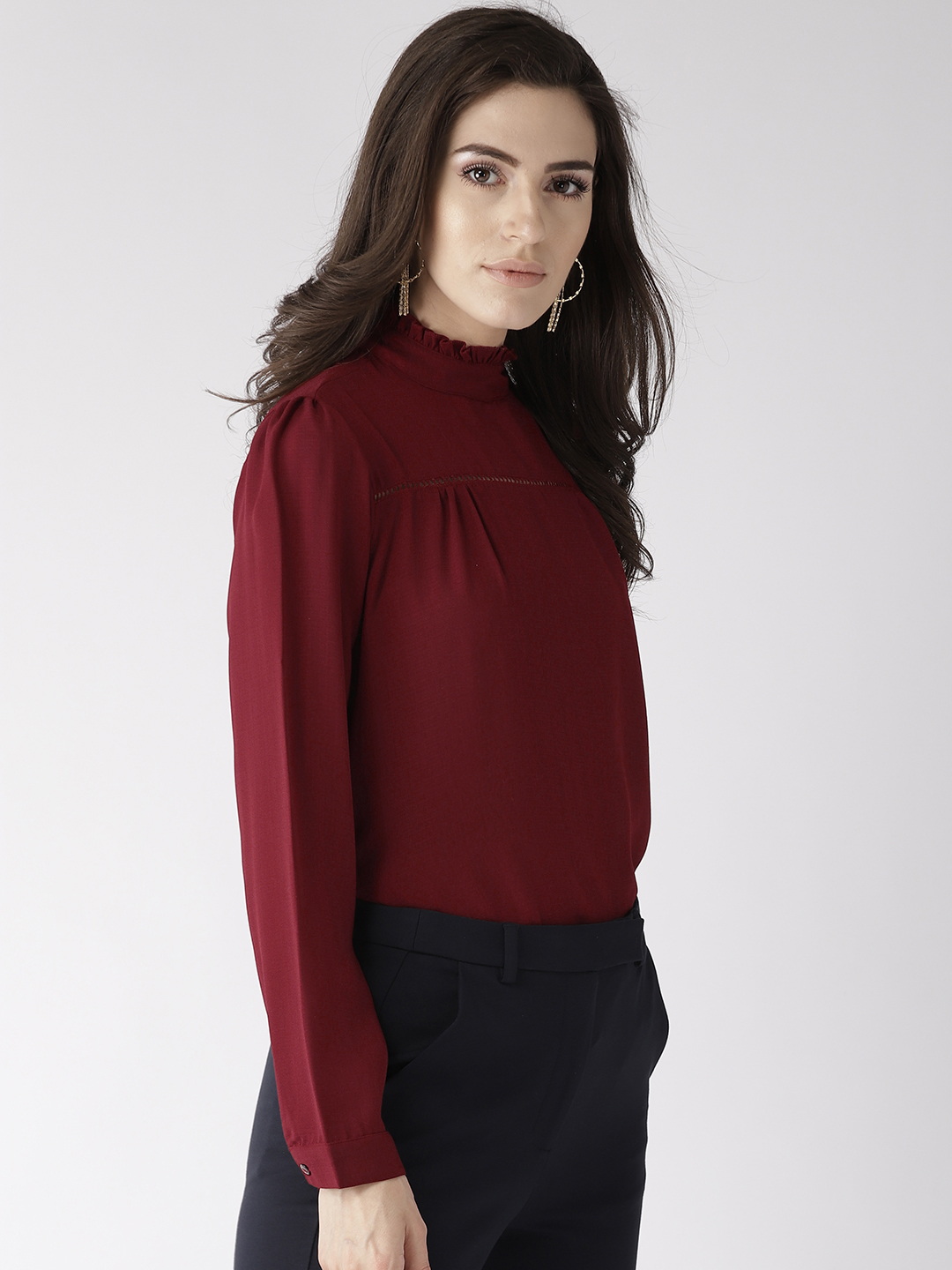 Tops-The New Look Maroon Top6
