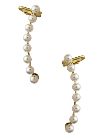 Ear Cuffs-The Pearl Trail Ear Cuff Pair1