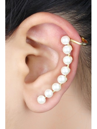 Ear Cuffs-The Pearl Trail Ear Cuff Pair3