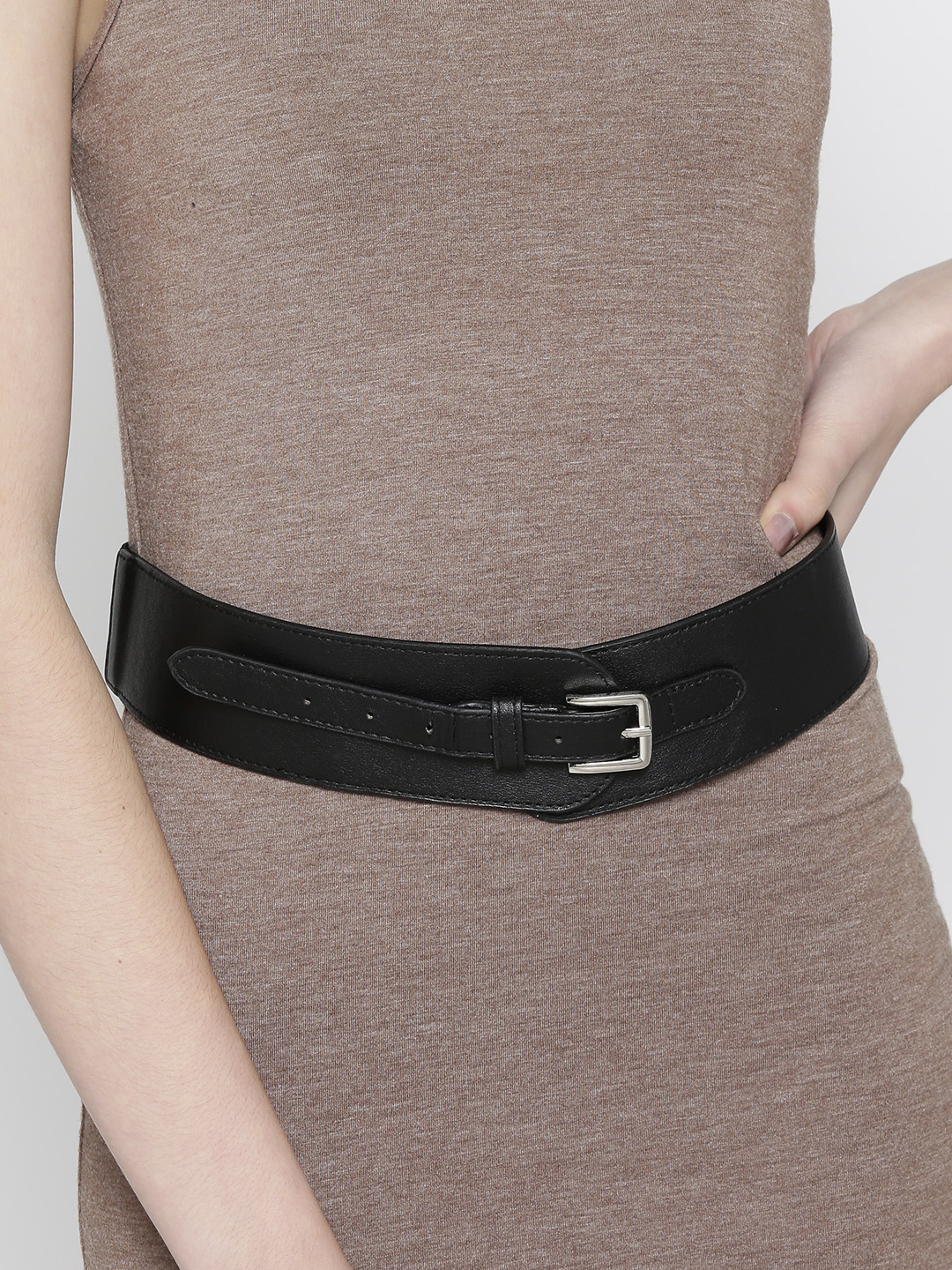Belts-The Sassy Stride Black Waist Belt1