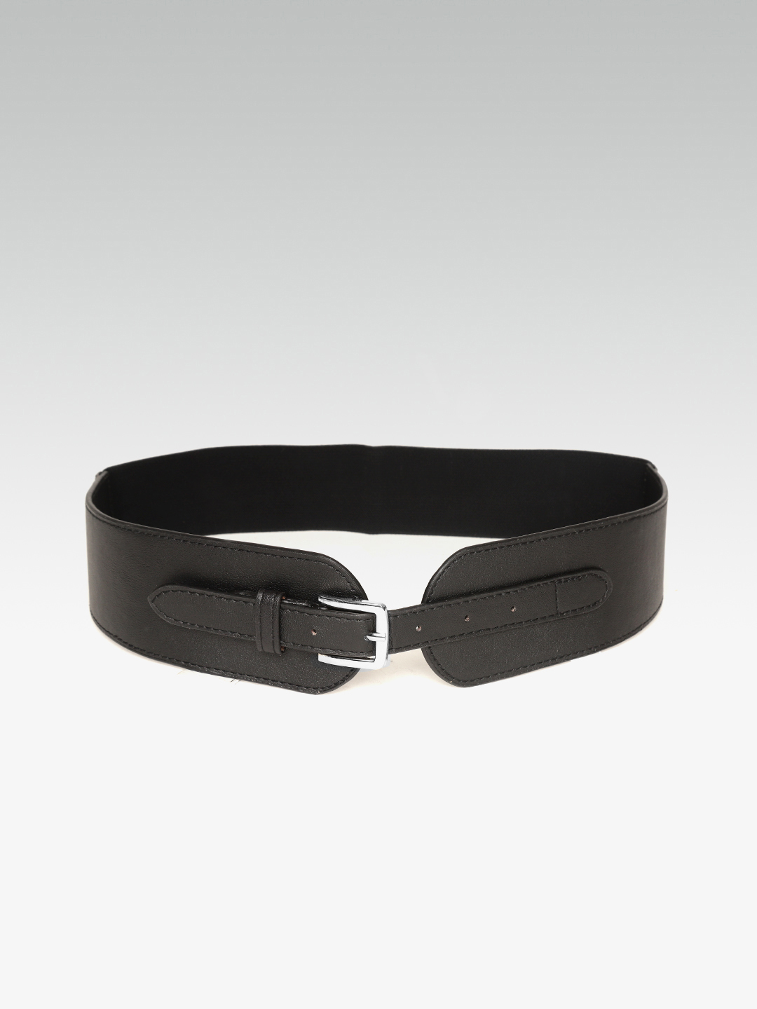 Belts-The Sassy Stride Black Waist Belt3