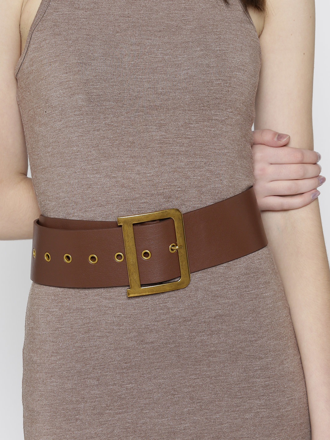 Belts-The Style Wave Brown Belt1