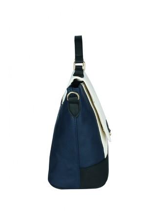 Hand Bags-The Surface Of Sea Colorblock Handbag6