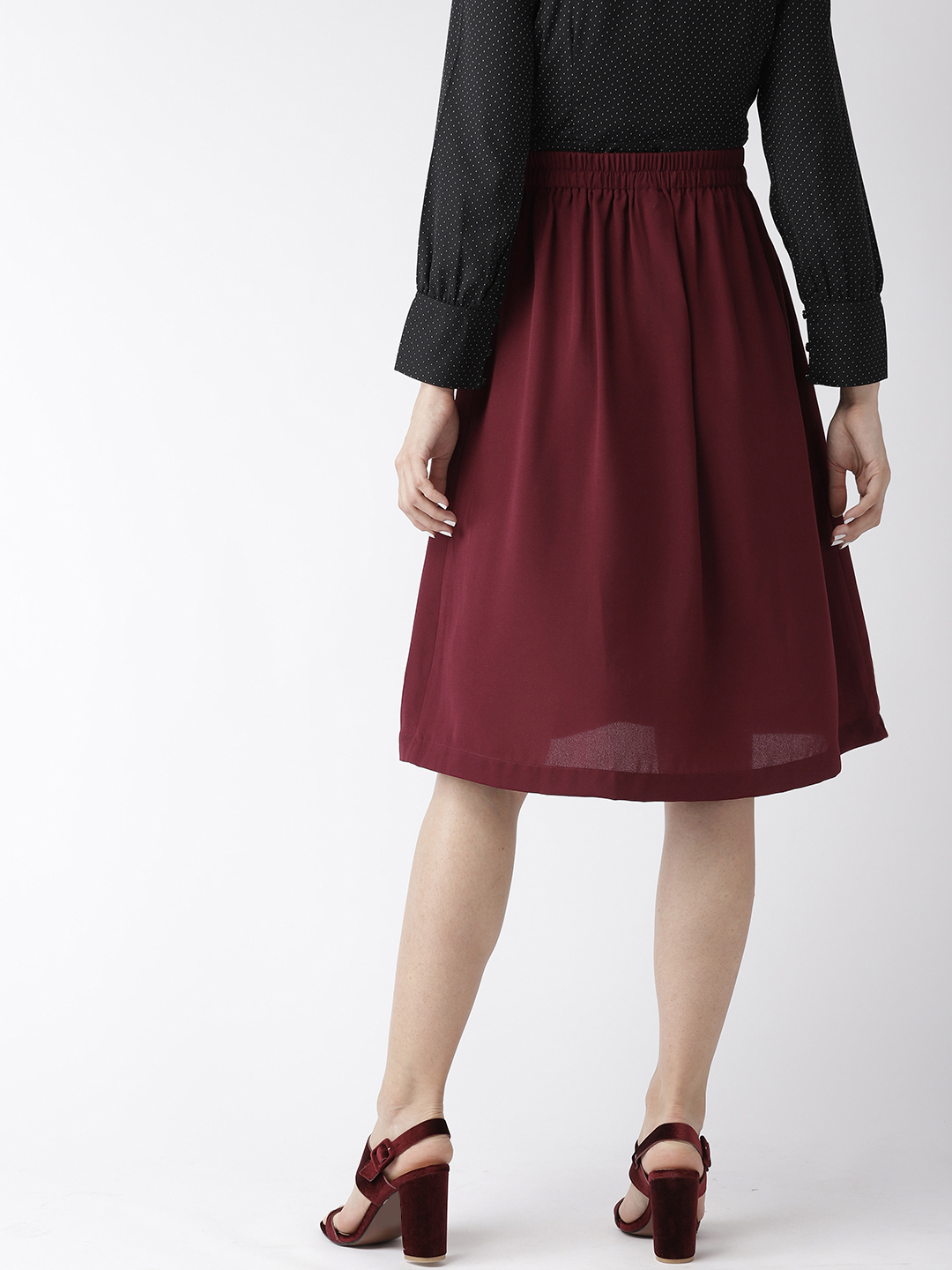 Shorts and Skirts-The Sweet Spot Button Down Skirt3