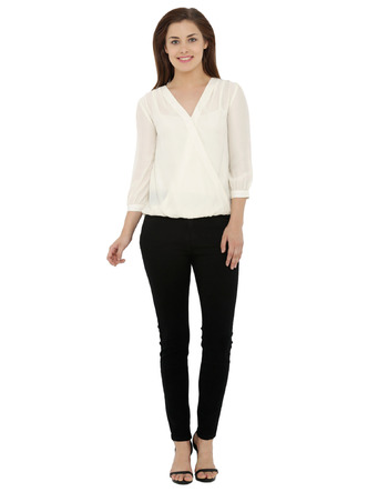 Tops-Timeless Overlap Off White Top2
