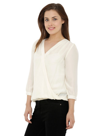 Tops-Timeless Overlap Off White Top4