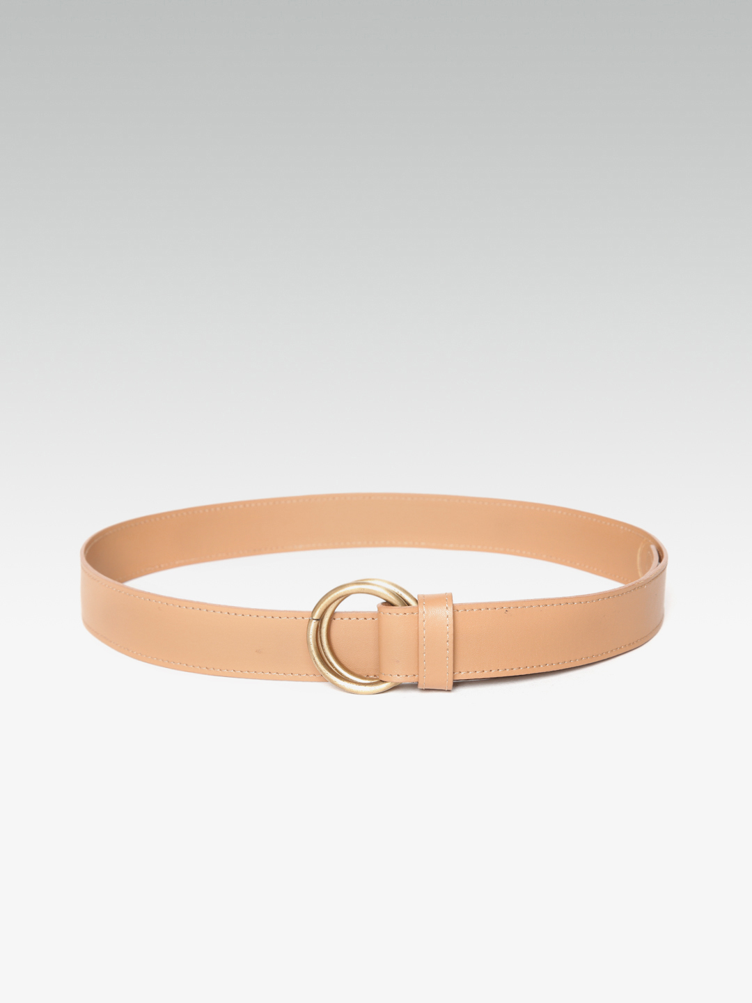 Belts-Twin Spin Beige Waist Belt3