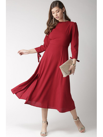 Dresses-Twirling In Flair Midi Dress4