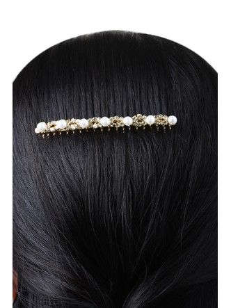 Hair Accessories-Twisted In Pearls Haircomb3