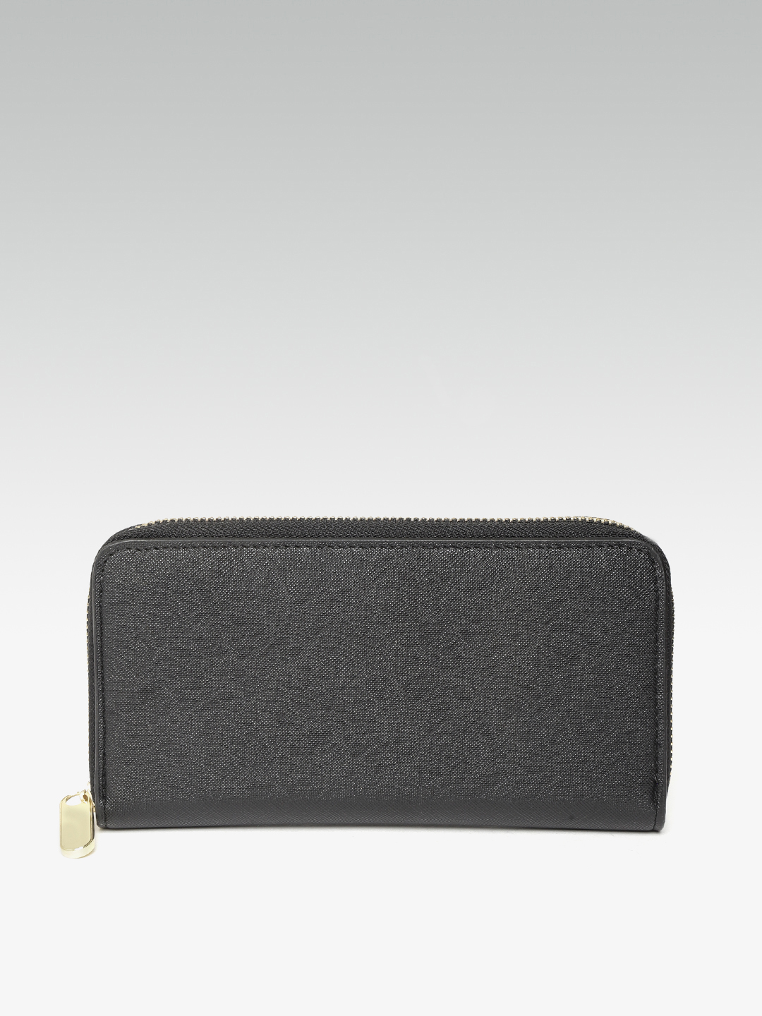 Wallets and Makeup Pouches-Sticking To the Classics Black Wallet1