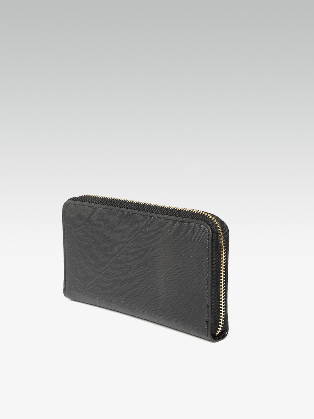 Wallets and Makeup Pouches-Sticking To the Classics Black Wallet2