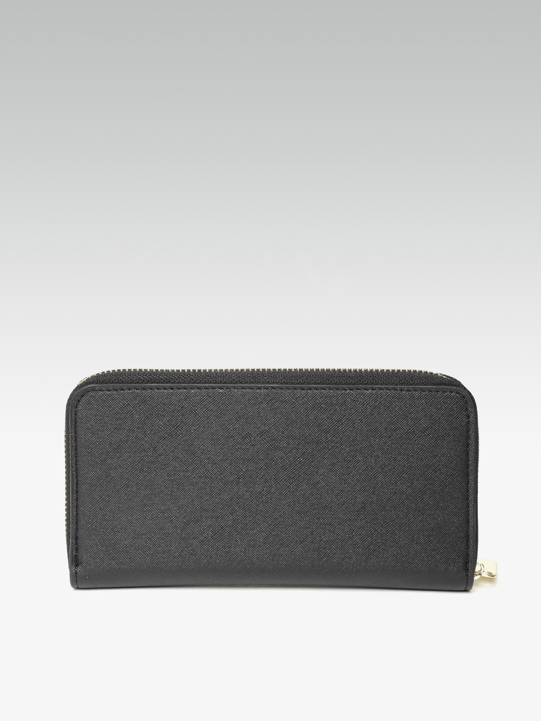 Wallets and Makeup Pouches-Sticking To the Classics Black Wallet3