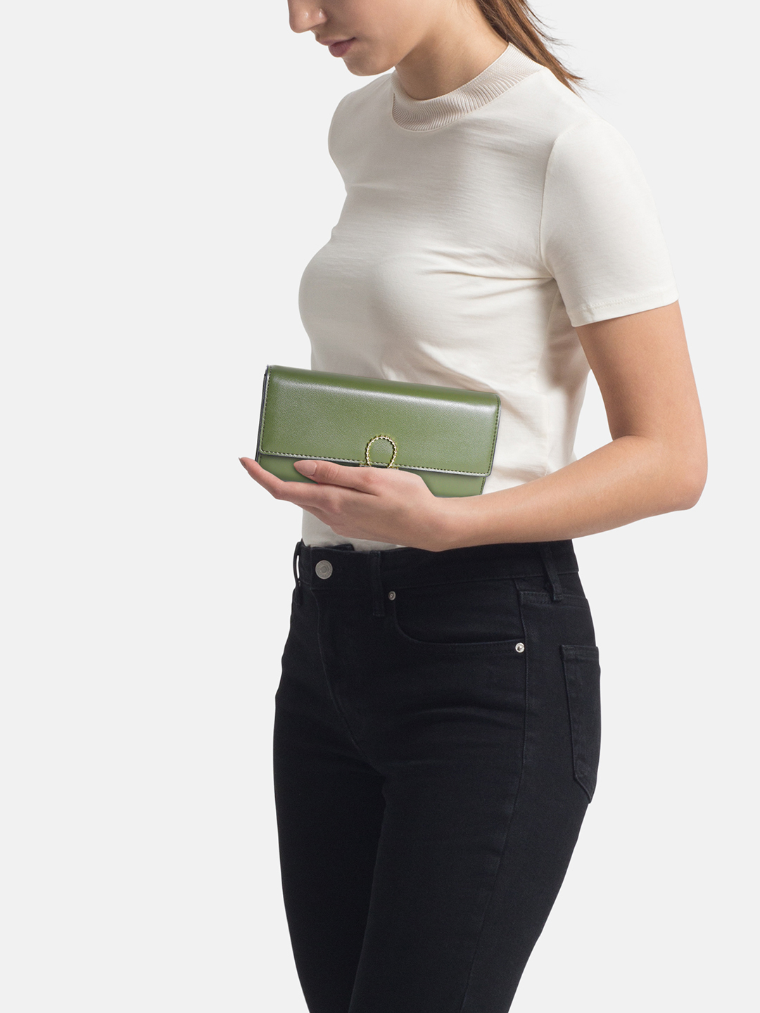 Wallets and Makeup Pouches-The Color Of Envy Wallet1