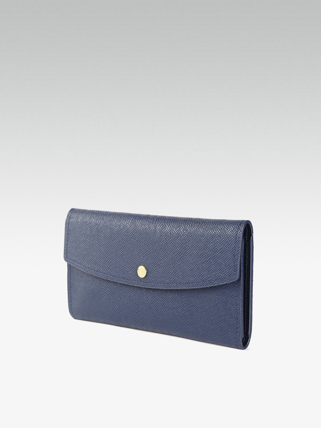 Wallets and Makeup Pouches-Navy Always A Classic Wallet2