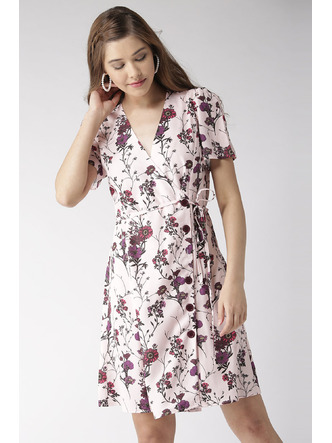Dresses-Wrapped In Florals Dress3