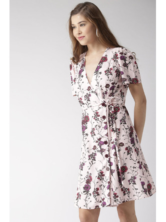 Dresses-Wrapped In Florals Dress2