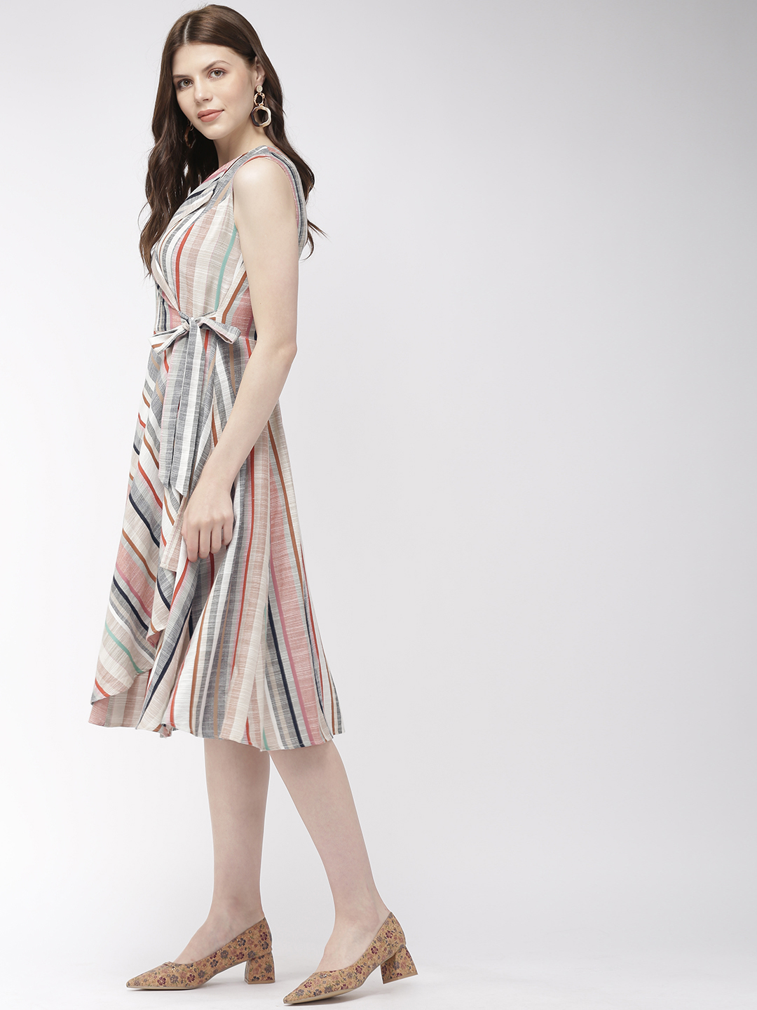 Dresses-Wraps All The Way Midi Dress2