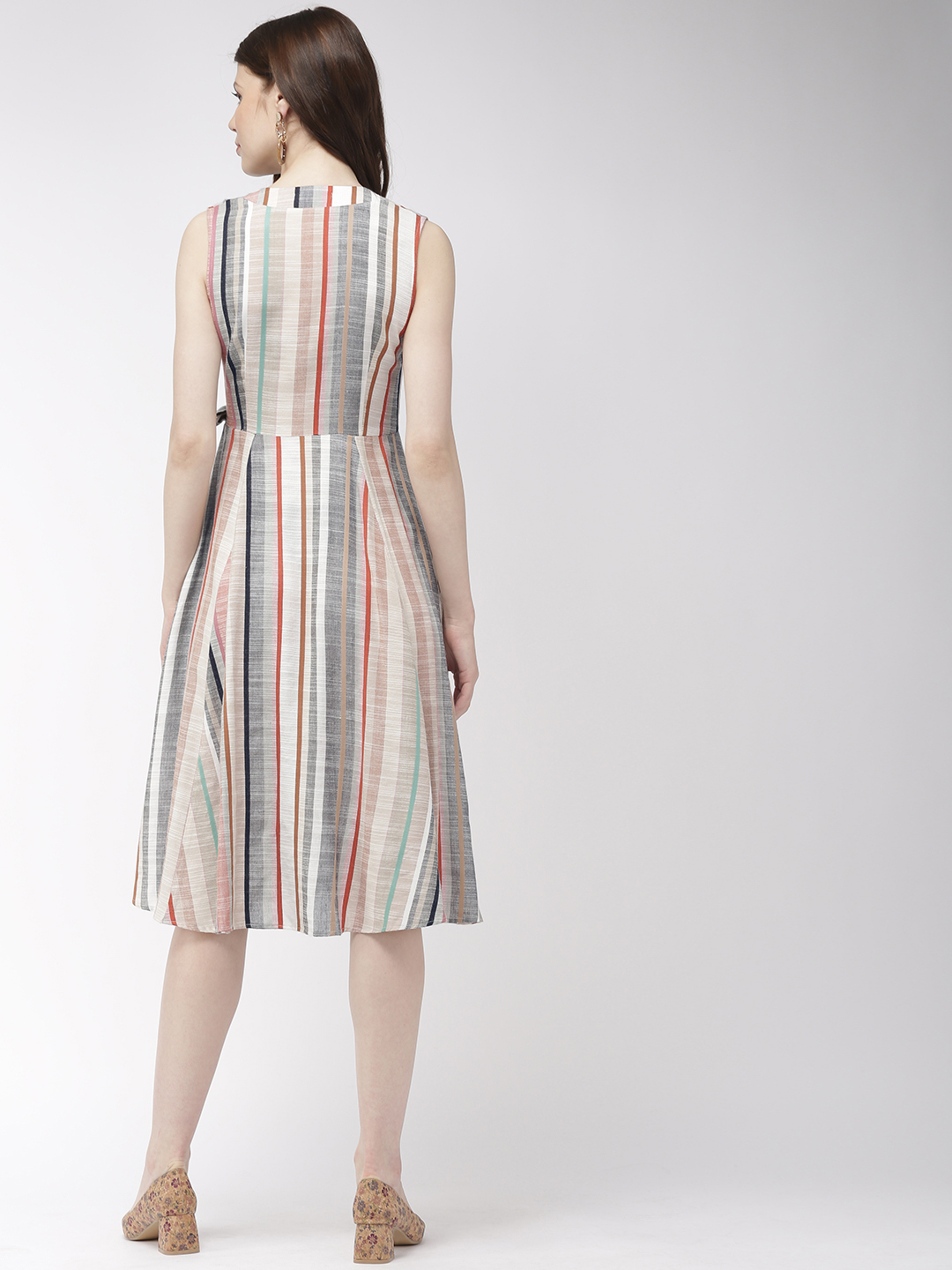 Dresses-Wraps All The Way Midi Dress3