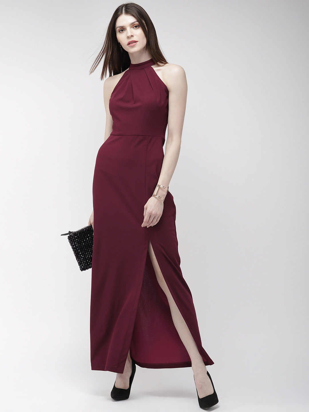 Dresses-You Are Still The One Slit Maxi Dress1