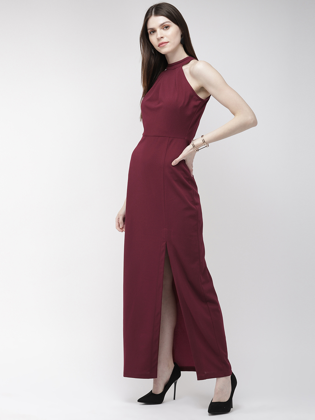 Dresses-You Are Still The One Slit Maxi Dress2
