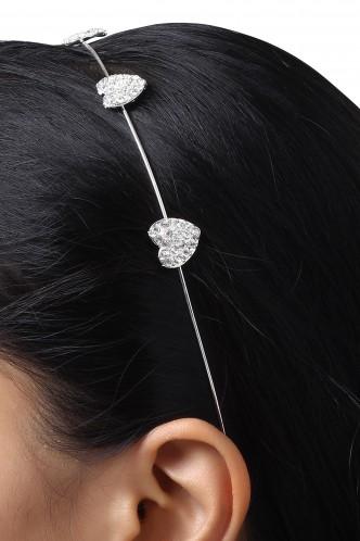 Hair Accessories-A Heart Shaped World Hairband