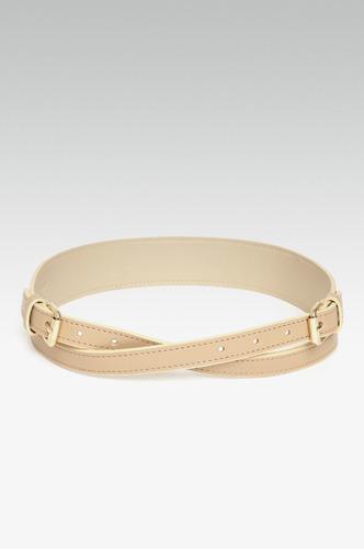 Belts-All For Wraps Beige Waist Belt